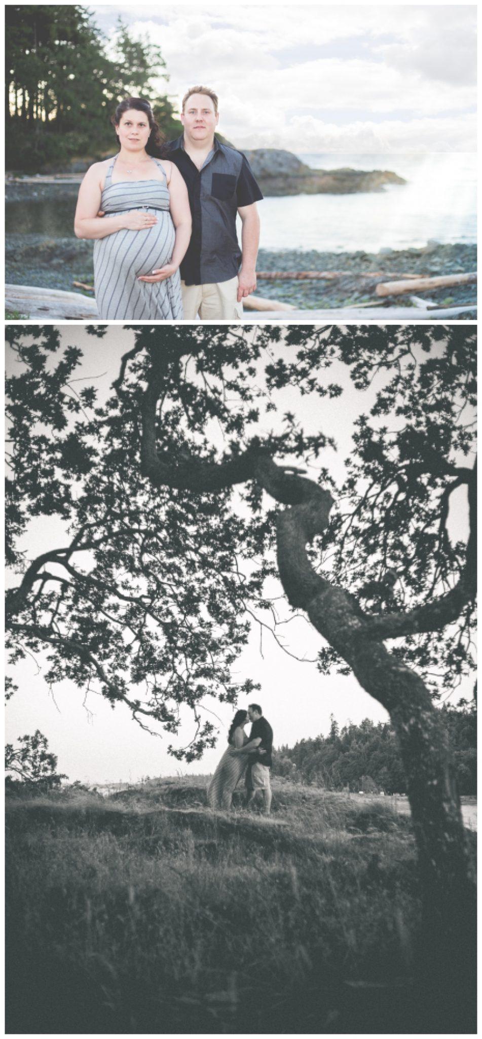 Romanti maternity images at nanaimo park