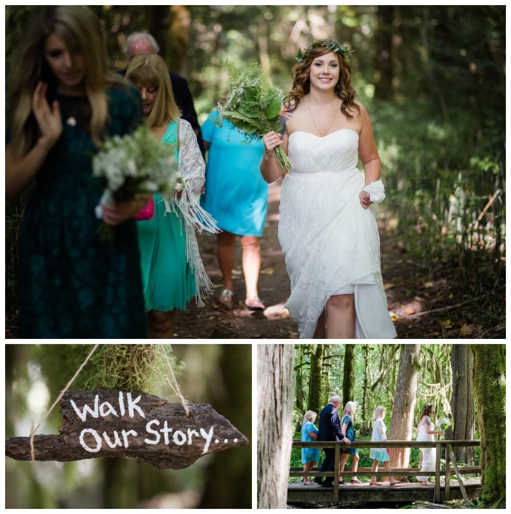 Squamish forest wedding - BC LGBT wedding photographers