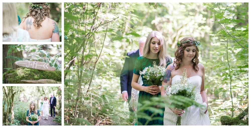 lgbt forest wedding - Vancouver Island wedding photographer