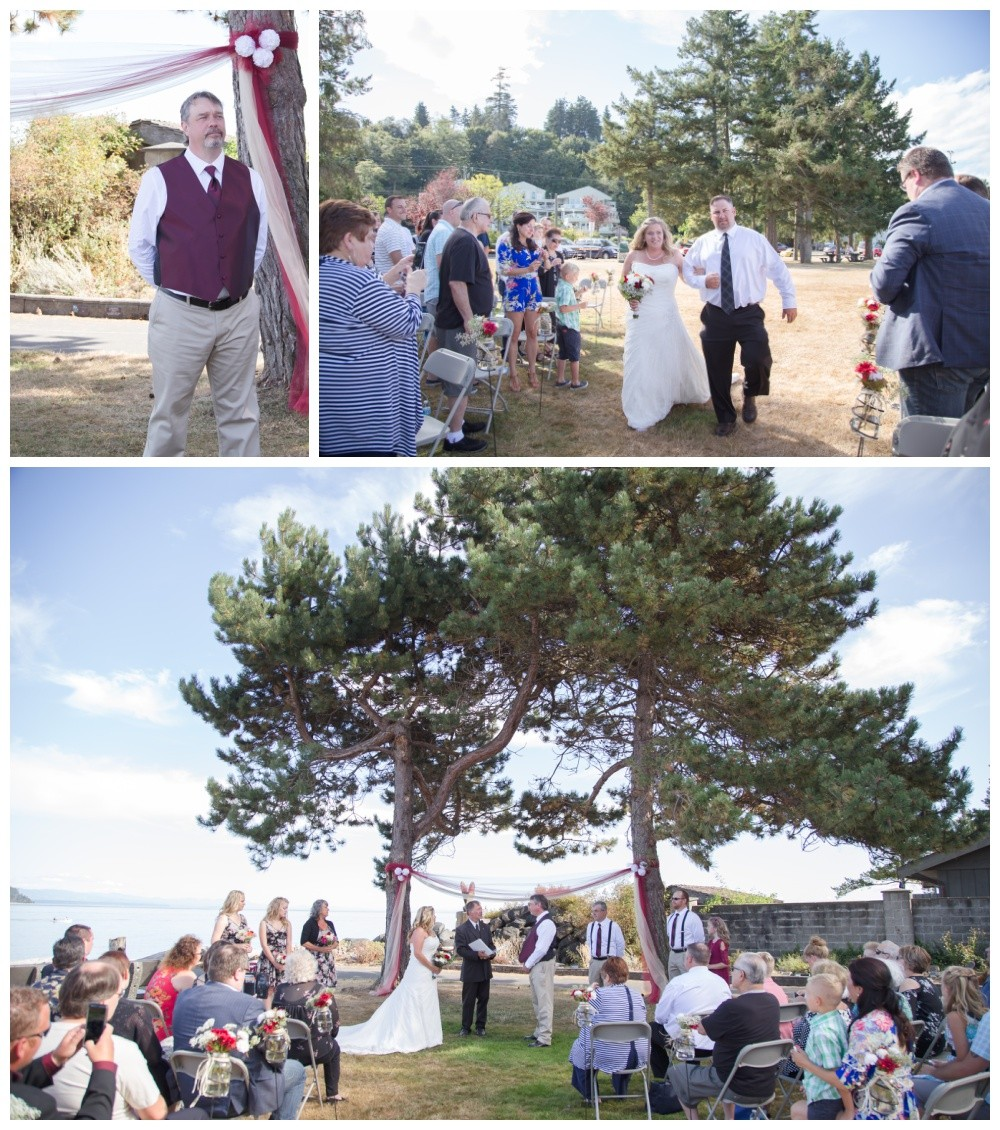 Comox Kin Beach wedding