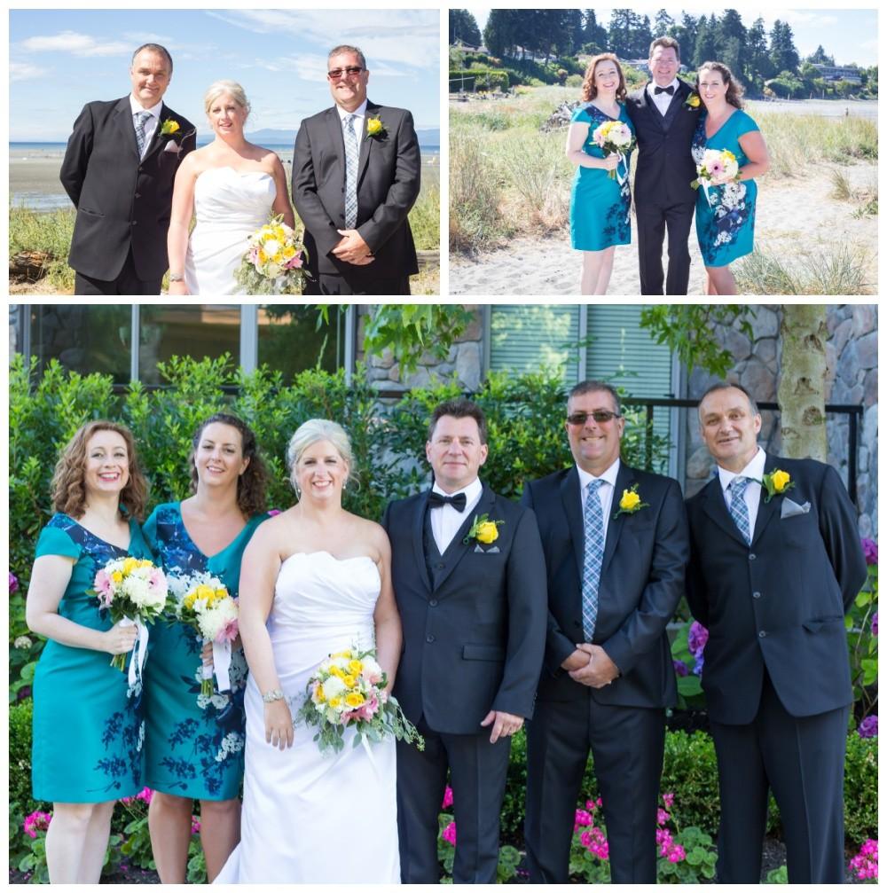 Summer beach weddings in parksville