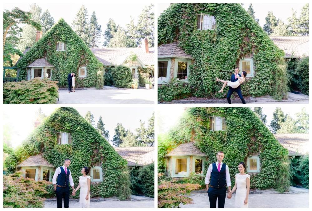 milner gardens Vancouver Island - North Island Wedding Venues