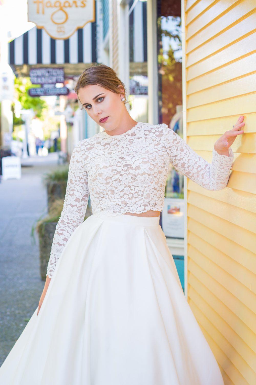 Downtown Nanaimo Stylized Bridal Session