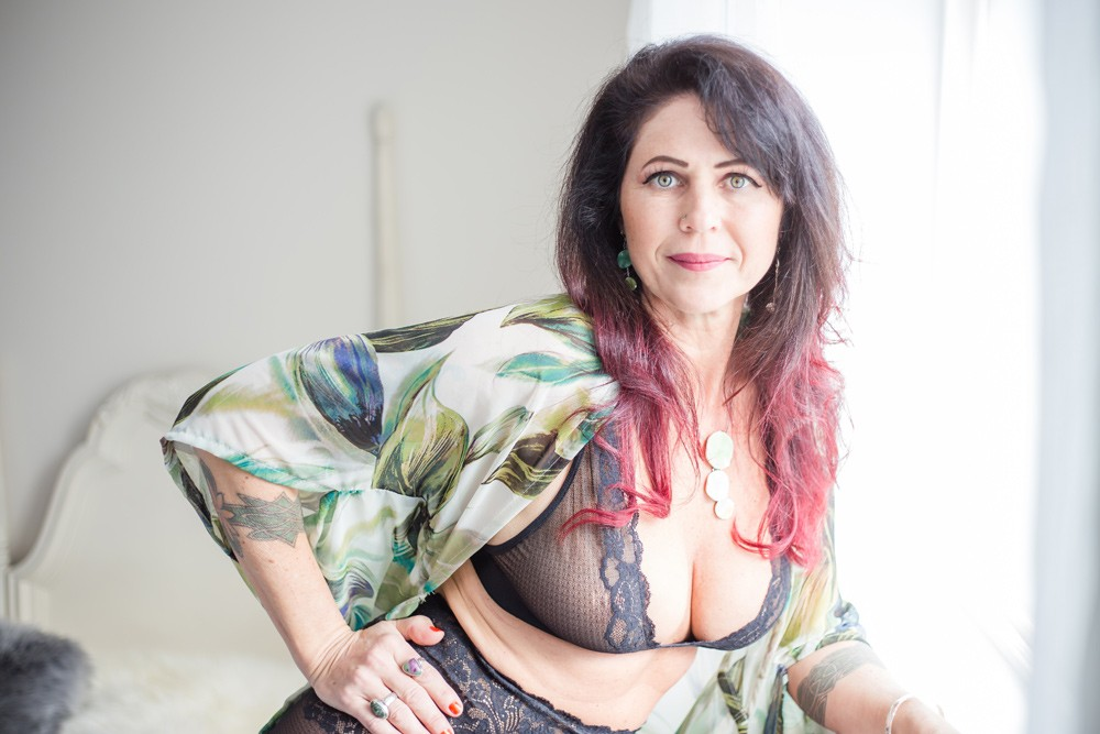 Colourful Boudoir Photography in Nanaimo