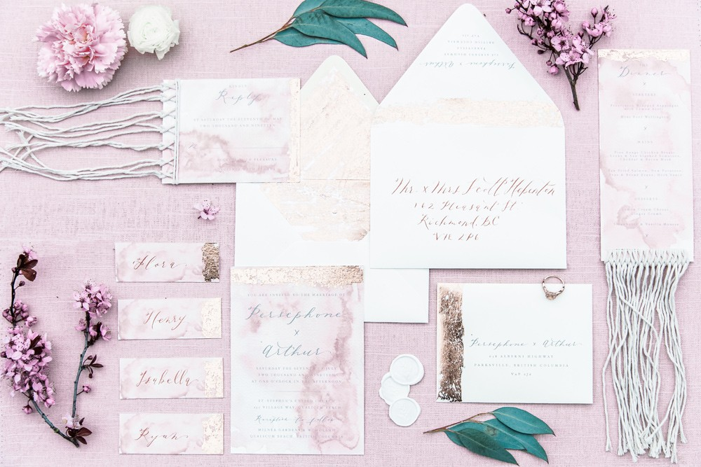 Wedding Stationery Vancouver Island