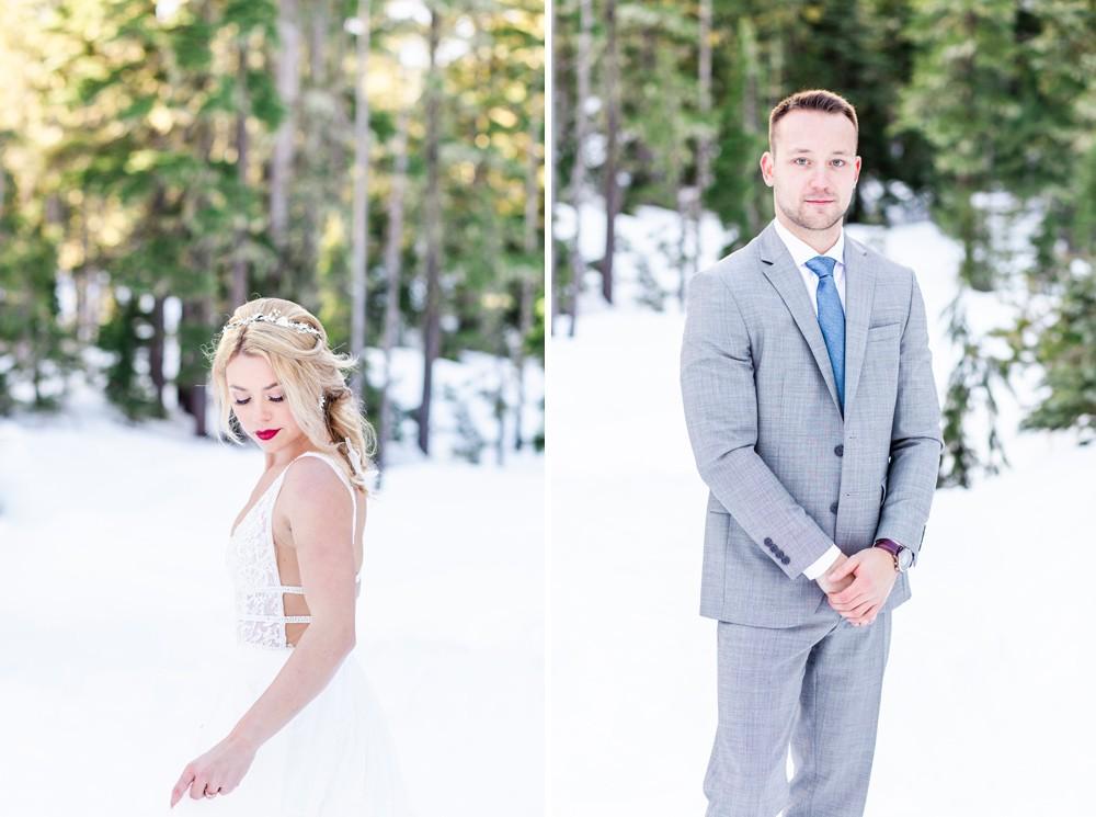 Winter weddings on Vancouver Island