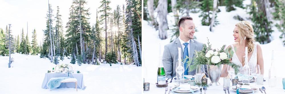 Winter elopement locations Vancouver Island