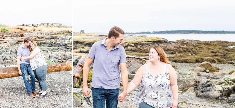 Plus size couples photos in Oak Bay