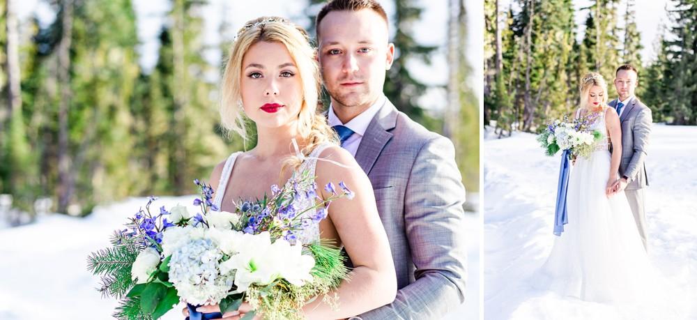 A winter wedding story