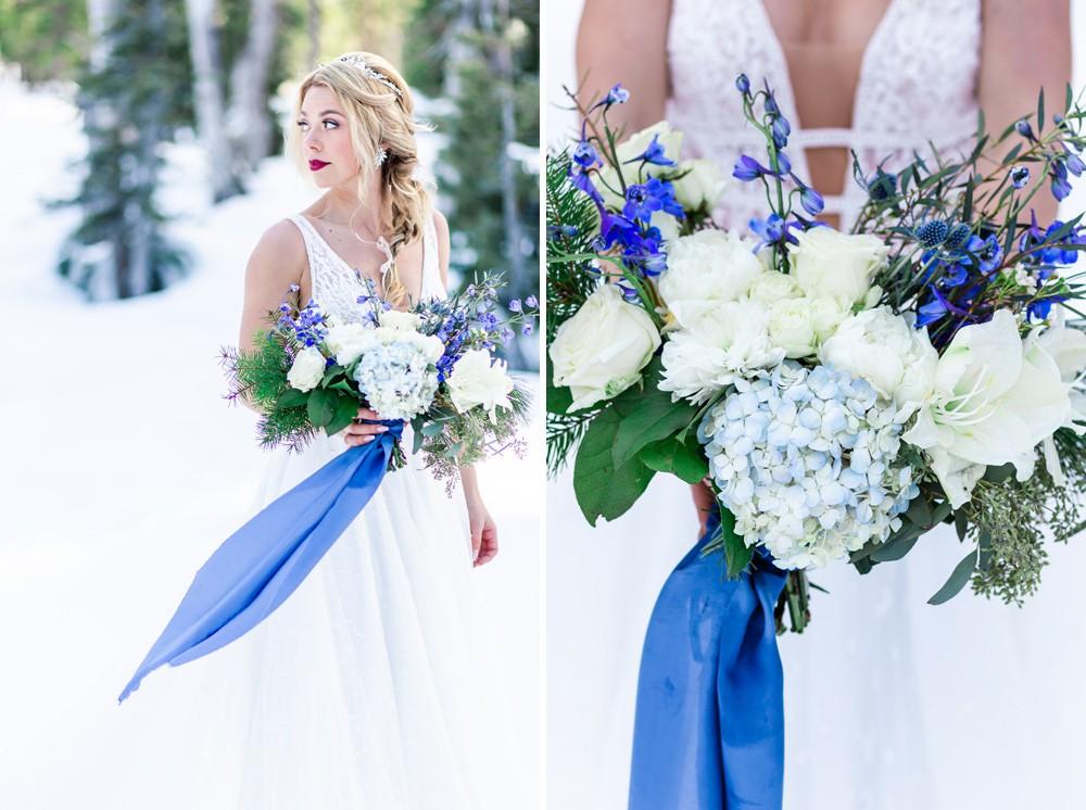 Winter Bridal Details Vancouver Island