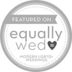 Featured in Buttons Equally Wed grey